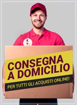 Consegna a domicilio per tutti gli ordini online