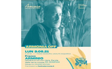 Armoniaoff   Franco Arminio  - Lunedì 9 agosto