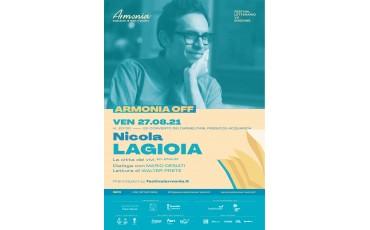 Armonia off   Nicola Lagioia  - Venerdì 27 agosto